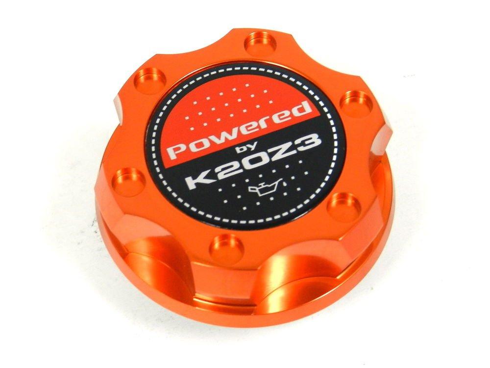 ORANGE BILLET CNC RACING ENGINE OIL FILLER CAP HONDA CIVIC RSX K20Z3