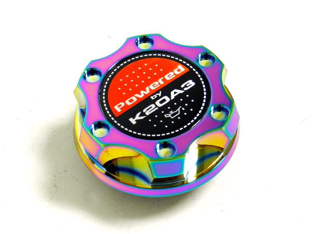 NEO CHROME BILLET CNC RACING ENGINE OIL FILLER CAP HONDA CIVIC RSX K20A3