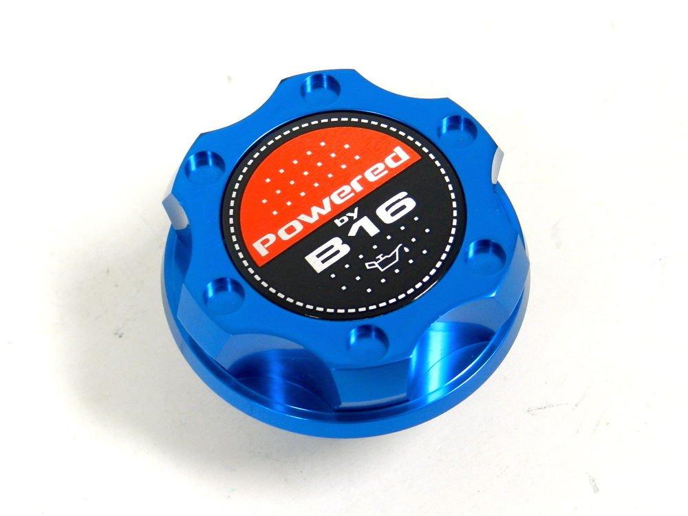 BLUE BILLET CNC RACING ENGINE OIL FILLER CAP HONDA CIVIC DEL SOL CRX B16