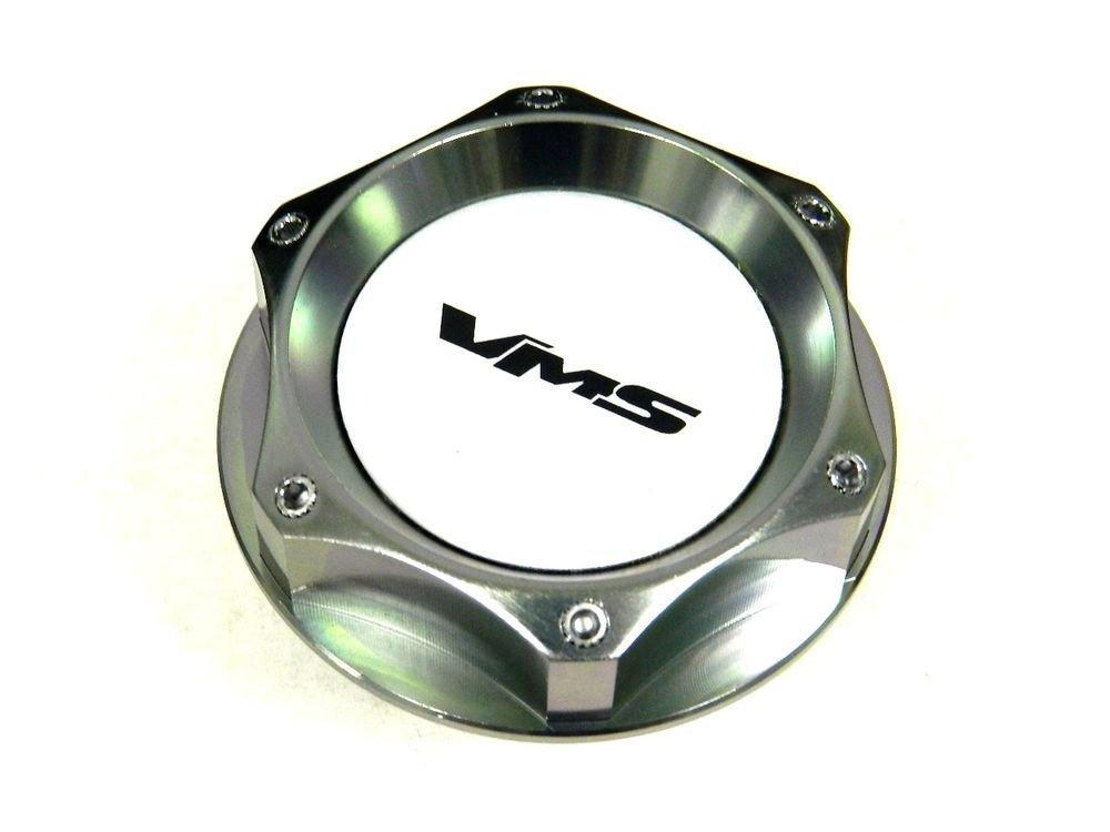 VMS RACING GUNMETAL BILLET CNC RACING ENGINE OIL FILLER CAP FOR TOYOTA SCION S