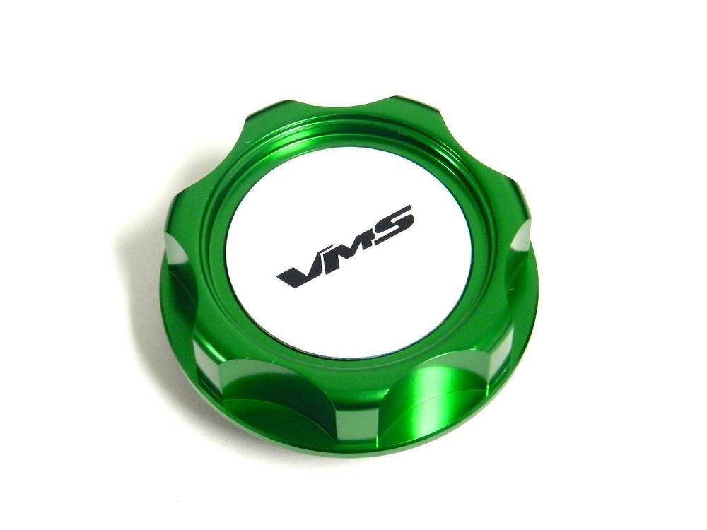 VMS RACING GREEN BILLET CNC ENGINE OIL FILLER CAP FOR HONDA ACURA M7 S
