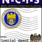 NCIS Special Agent Badge Personalized