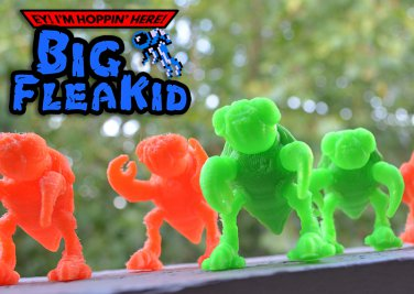 Big FleaKid - Plutonium Green