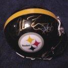 Alan Faneca autographed Steelers mini helmet