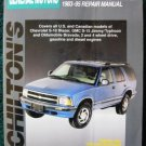 Chilton's General Motors Blazer/Jimmy/Typhoon/Bravada 1983-95 Repair Manual. ISBN 0801986613