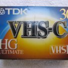 TDK VHS-C 30 HG ULTIMATE Tape