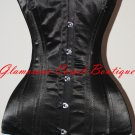 Steel Corset Waist Training Double Boned Long Line 26 Steel Bones! Size XS - 3XL