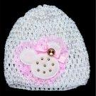 kids / baby crochet hat beanie OS
