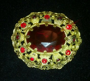 West Germany Vintage Brooch