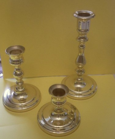 Baldwin candlestick holders