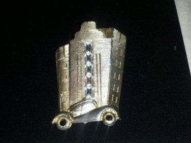 Vintage brooch M. Jent