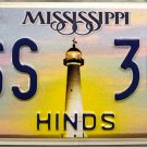 2010 Mississippi License Plate (HSS 304)