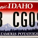 2012 Idaho License Plate (8B CG097)