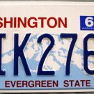 2013 Washington License Plate (AIK2767)