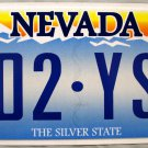 2014 Nevada License Plate (002 YST)
