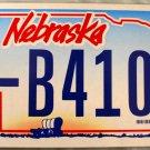 2006 Nebraska License Plate (9-B4103)