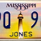 2013 Mississippi License Plate (JPQ 969)