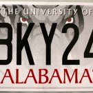 2006 Alabama: University of Alabama License Plate (BKY246)