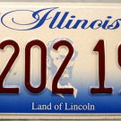 2006 Illinois Disabled Wheelchair License Plate (202 195)