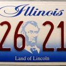 2003 Illinois License Plate (826 218)