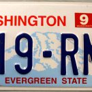2004 Washington License Plate (519-RMY)