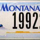 2006 Montana Disabled (Wheelchair) License Plate (19922)