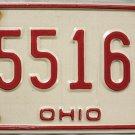 1980 Ohio License Plate (25516 Q)