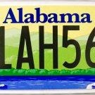 2014 Alabama License Plate (11AH563)