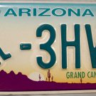 2014 Arizona Disabled Wheelchair License Plate (3HVF)