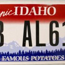 2011 Idaho License Plate (8B AL613)