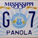 2015 Mississippi License Plate (PAG 711)