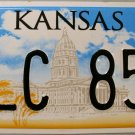 2012 Kansas License Plate (SLC 857)