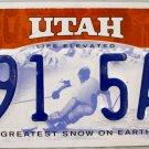 2010 Utah License Plate (B91 5AK)