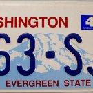 2005 Washington License Plate (363-SJE)