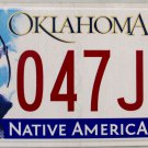 2014 Oklahoma License Plate (047 JMT)