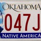 2014 Oklahoma License Plate (047 JMT)