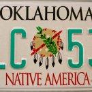 2004 Oklahoma License Plate (FLC 532)