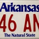 2003 Arkansas License Plate (046 ANM)