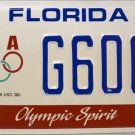 1994 Florida Olympic Spirit License Plate (G60CF)