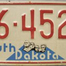 1975 South Dakota License Plate (46-4520)