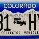 Colorado Collector Vehicle License Plate (131 HYX)