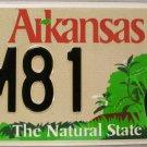 2014 Arkansas Game and Fish Wild Turkey License Plate (XM81)