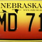 2005 Nebraska License Plate (NMD 719)