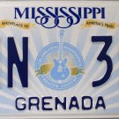 2015 Mississippi License Plate (GNN 390)