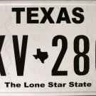 "Texas ""Classic"" License Plate (FKV 2867)"