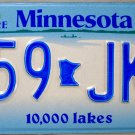 1997 Minnesota License Plate (659 JKD)