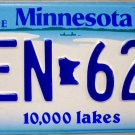 2006 Minnesota License Plate (KEN 627)