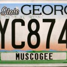2015 Georgia License Plate (PYC8741)
