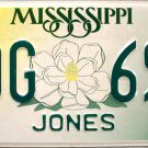 2000 Mississippi License Plate (LDG 699)