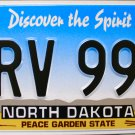 North Dakota License Plate (KRV 994)
